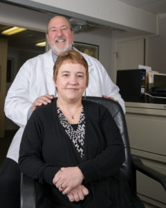 Partners: Jackie Rice and David Keenan